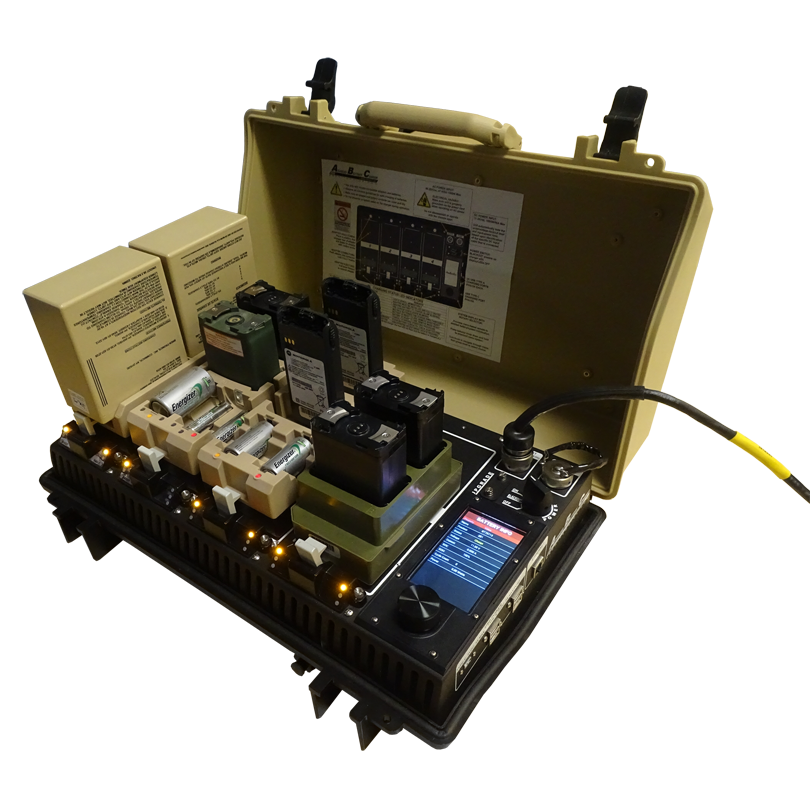 Military Battery and Charger Systems, Bren-Tronics Inc.